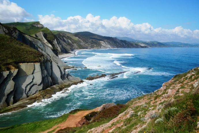 Ruta geológica por la costa vasca
