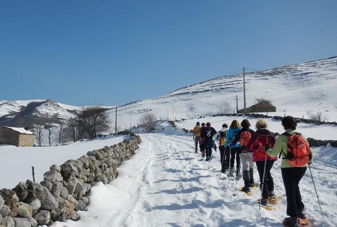 Excursión con Raquetas de Nieve - Lunada @ ESPINOSA DE LOS MONTEROS | Espinosa de los Monteros | Castilla y León | España