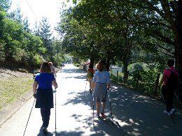 """Caminata de Nordic Walking - """"Algorta-Bilbao, todos los caminos llevan a Bilbao"""" - NIVEL MEDIO"""