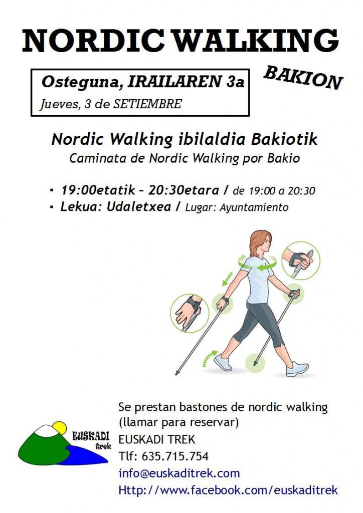 caminata nw bakio
