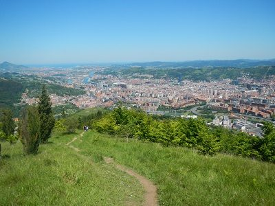 Descubriendo Bilbao - Artxanda - Caminata de Marcha Nórdica